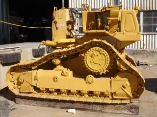 Caterpillar D4h Dozer 8pb3456 - Forestry Dozer With 8 Angle Blade And Rops photo