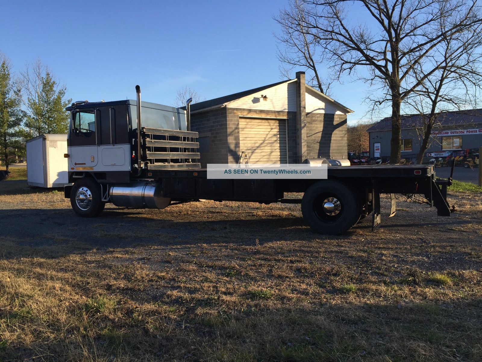 international  cabover single axle