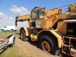 1989 Grove Rt630.  30 Ton Grove Rt 630.  Grove Rough Terrain Crane,  Needs Some Work photo