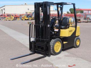 2004 Daewoo G25p - 3 4500 Lbs Warehouse / Industrial Forklift Propane L/p 186