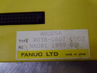 Fanuc A03b - 8087 - C002 Rack Assembly Fslot For Pmc photo