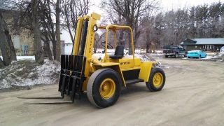 Hyster P80a Rough Terrain Forklift Just Overhauled Swat Repo photo