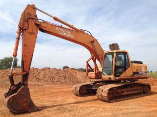 2005 Doosan Daewoo S225lcv Hydraulic Excavator 48