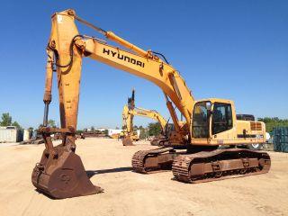 2007 Hyundai R360lc - 7a Hydraulic Excavator 60