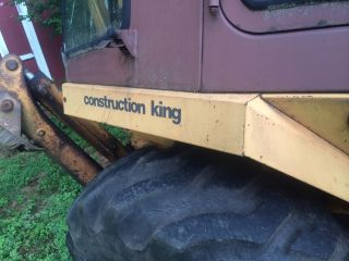 Case 580 E Loader Backhoe - photo