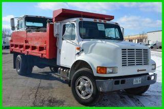 1990 International 4700 Dump Truck photo