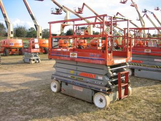 2005 Skyjack 4626 Scissorlift 26 ' Deck Hgt,  32 ' Work Hgt,  Fully Operational Hd photo
