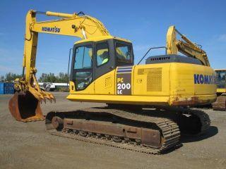 2008 Komatsu Pc200 Lc - 7 Excavator,  48