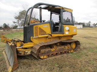 2008 John Deere 700jlt Bulldozer With 6 Way Balde Only 4,  014 Hours photo