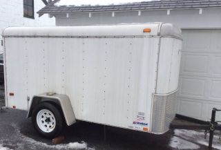 5x10 Enclosed Cargo Trailer Pa. photo