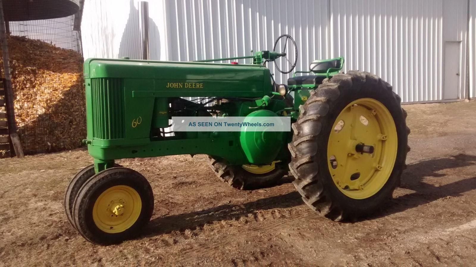 Old John Deere Power Wheels : John deere jd antique gas tractor with power steering