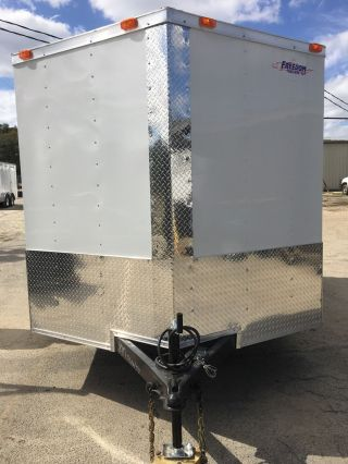 7x10 Enclosed Trailer photo