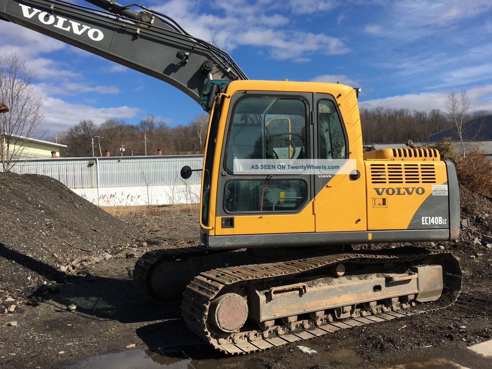2006 Volvo Excavator Ec140