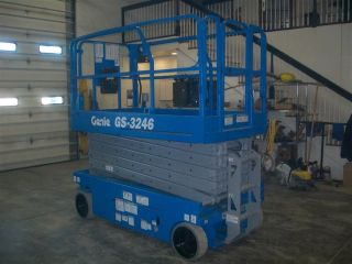 Gs - 3246 Scissor Lift photo