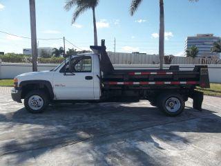 2005 Gmc 3500 Dump Duramax Diesel Florida photo