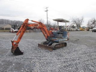 Kubota Kh - 027 Mini Excavator photo