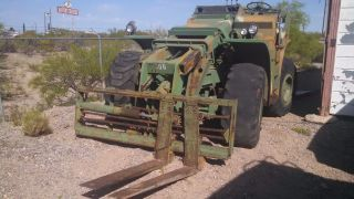 Forklift Rough Terrain Pettibone 10,  000lb photo