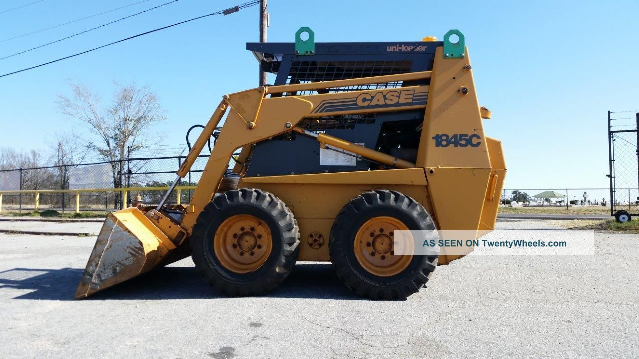 Bobcat Skid Steer Cover : Case c skid steer bobcat only hours finance