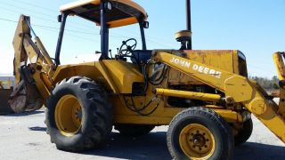 John Deere 410b 2wd Backhoe - Ex County - Finance Available. . . photo