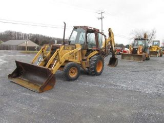 Case 580se Tractor Loader Backhoe photo