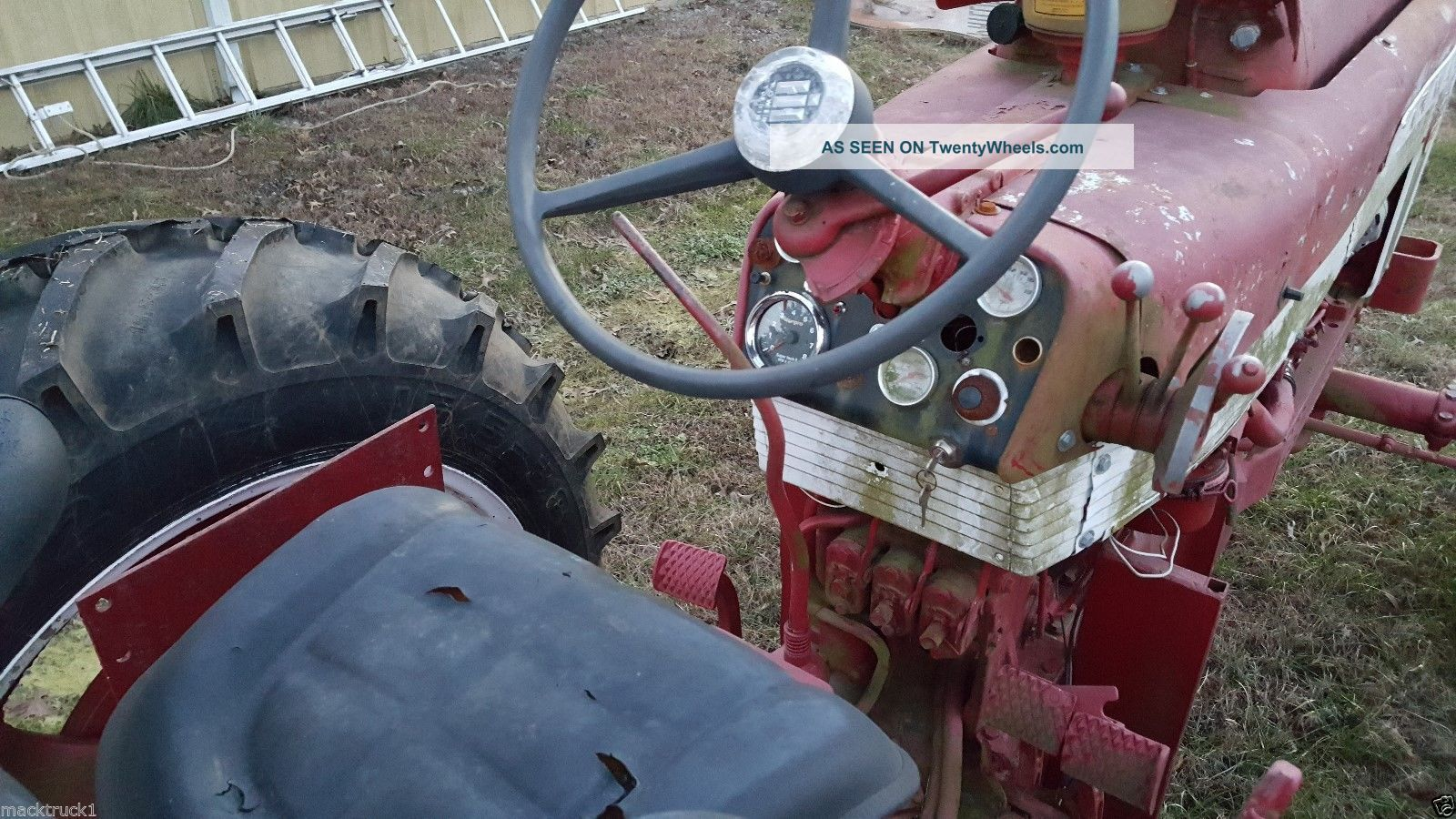 Ih Farmall International Tractor Lp Propane Gas Wide Front Tires Lgw