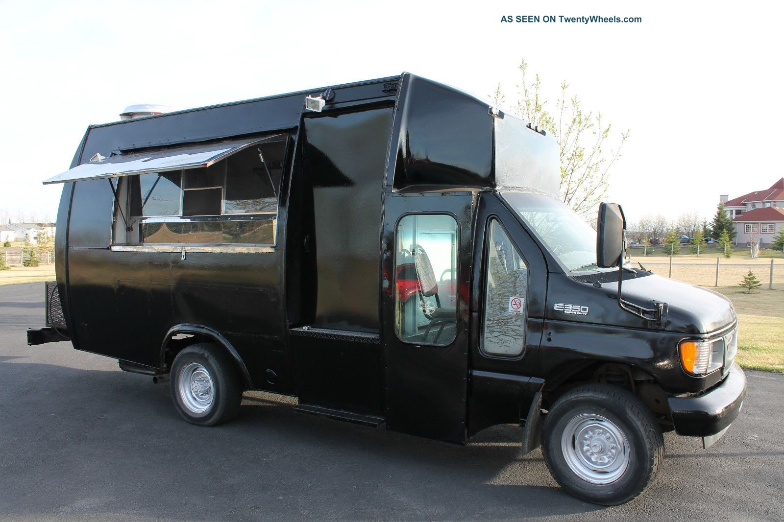 2001 Ford Food Truck - Very Stainless Steel Step Vans photo