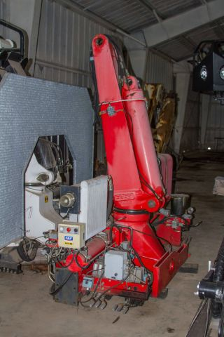 2004 Fassi F250.  Se22 Wallboard Crane photo