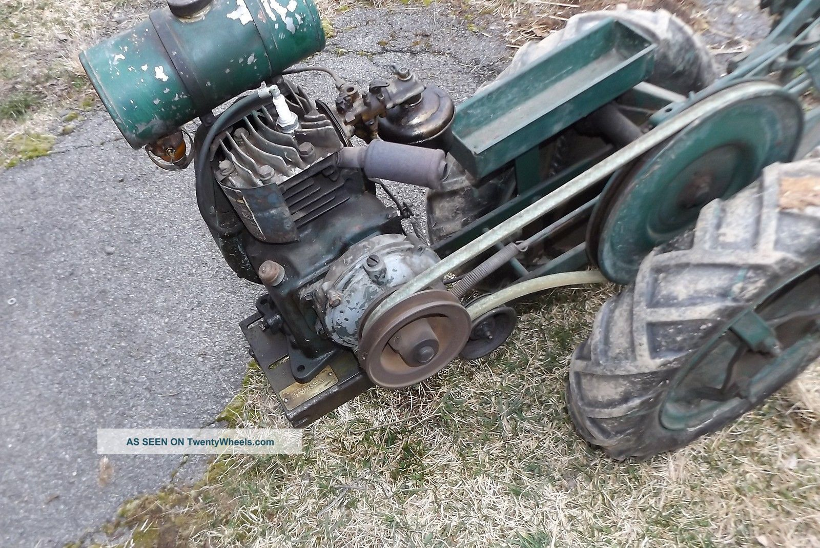 Vintage Planet Jr Walk Behind Garden Tractor With