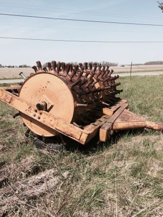 Sheeps Foot Double Drum Compactor - Pull Type photo