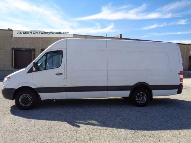 2013 mercedes benz sprinter 3500 extended dually hightop for 2016 mercedes benz sprinter extended cargo van