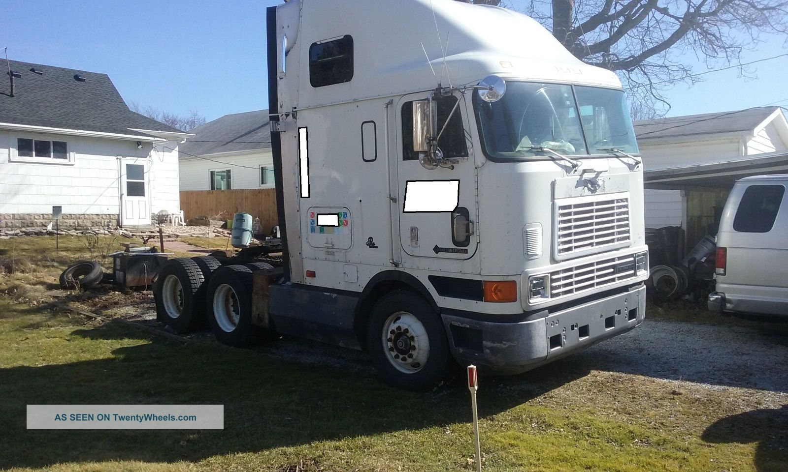1997 International 9800 Sba Coe