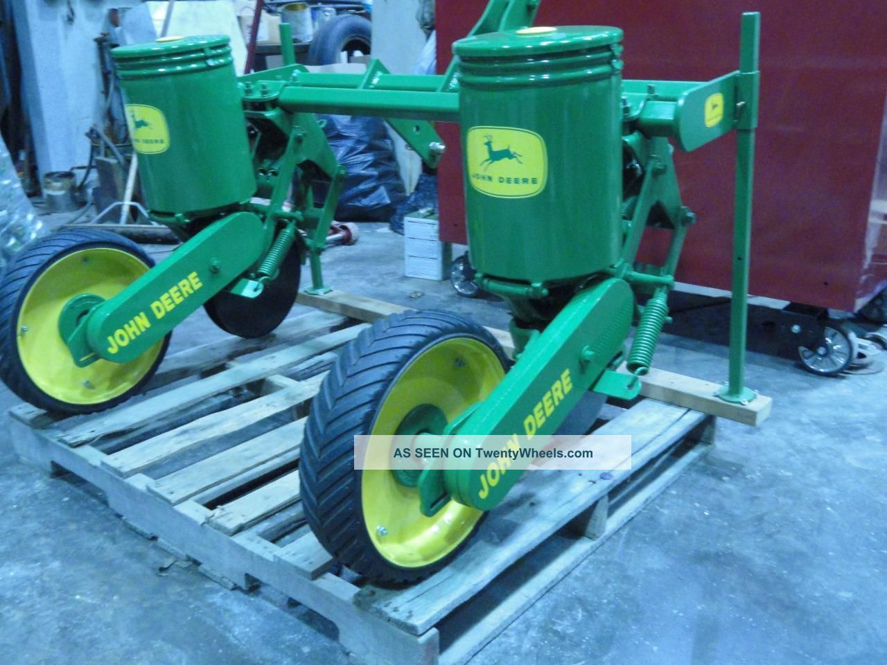 John Deere Point Row Corn Planter Food Plots Sweet Corn Jd Flex Lgw