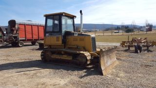 1994 Caterpillar D4c Xl Hystat Bull Dozer Crawler Tractor Diesel Engine Machine photo