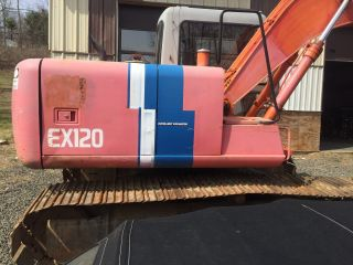 Hitachi Ex120 - 2 photo
