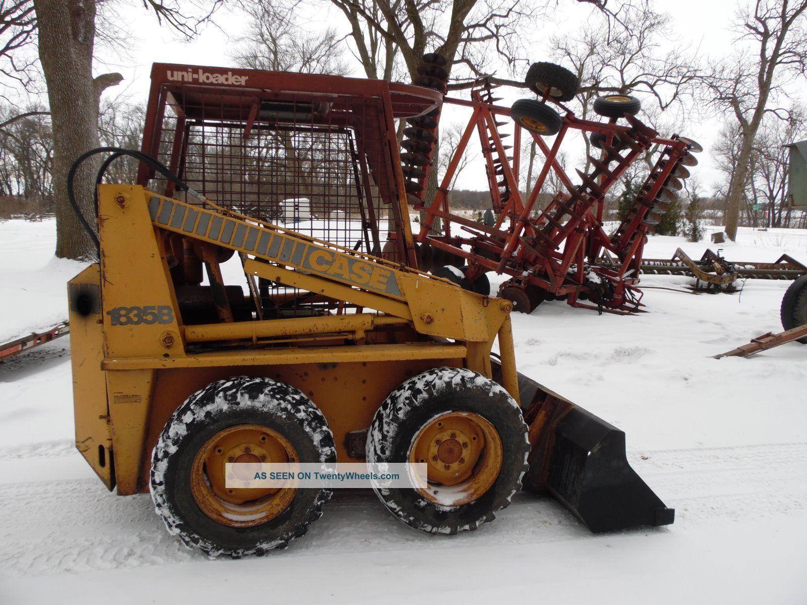 Bobcat Skid Steer Cover : Case b skid steer loader low houred bobcat skidsteer