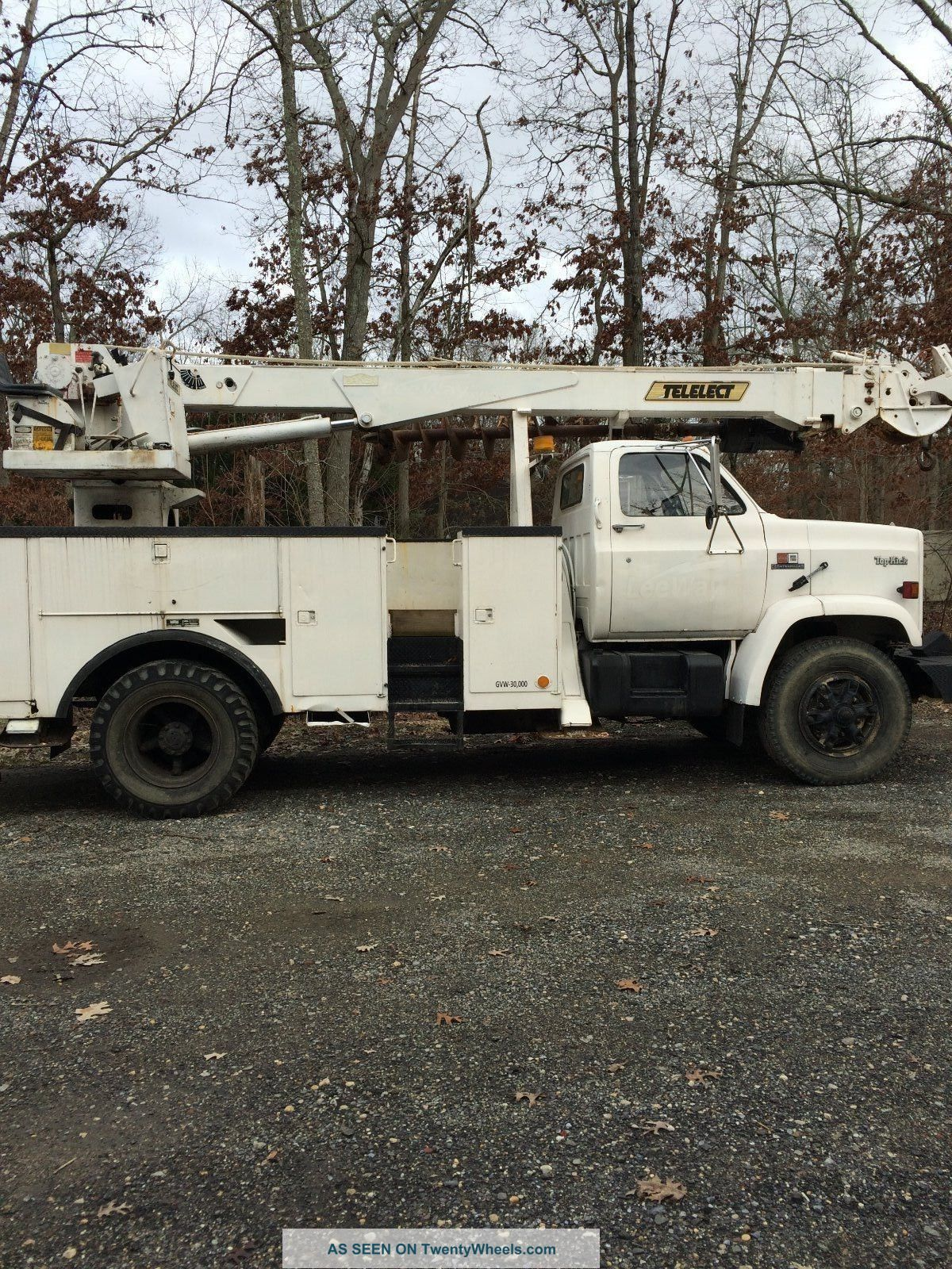 1989 Gmc Top Kick Bucket / Boom Trucks photo