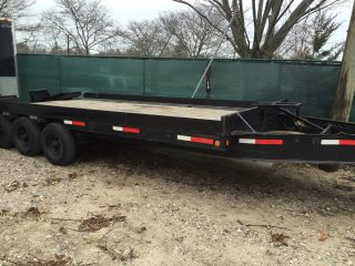 1988 9 Ton Beaver Tail Utility Trailer photo