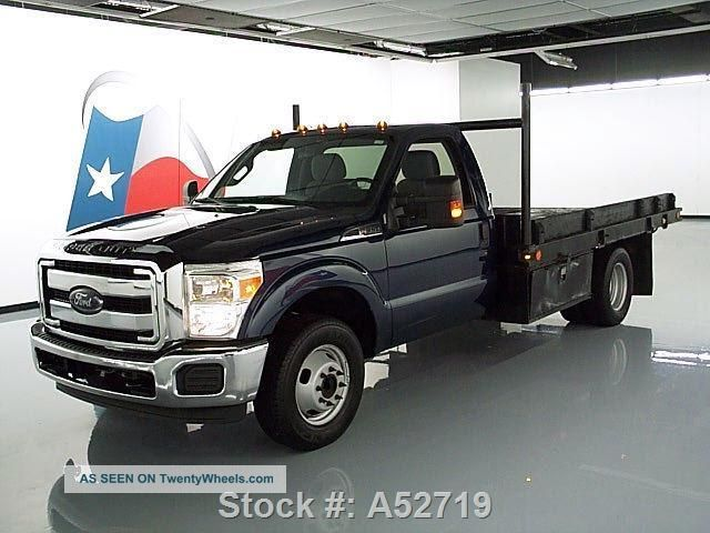 2013 ford f 350 xlt regular cab dually flat bed. Black Bedroom Furniture Sets. Home Design Ideas