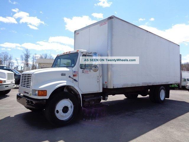 1999 International 4700 24 ' Box Truck Bucket / Boom Trucks photo