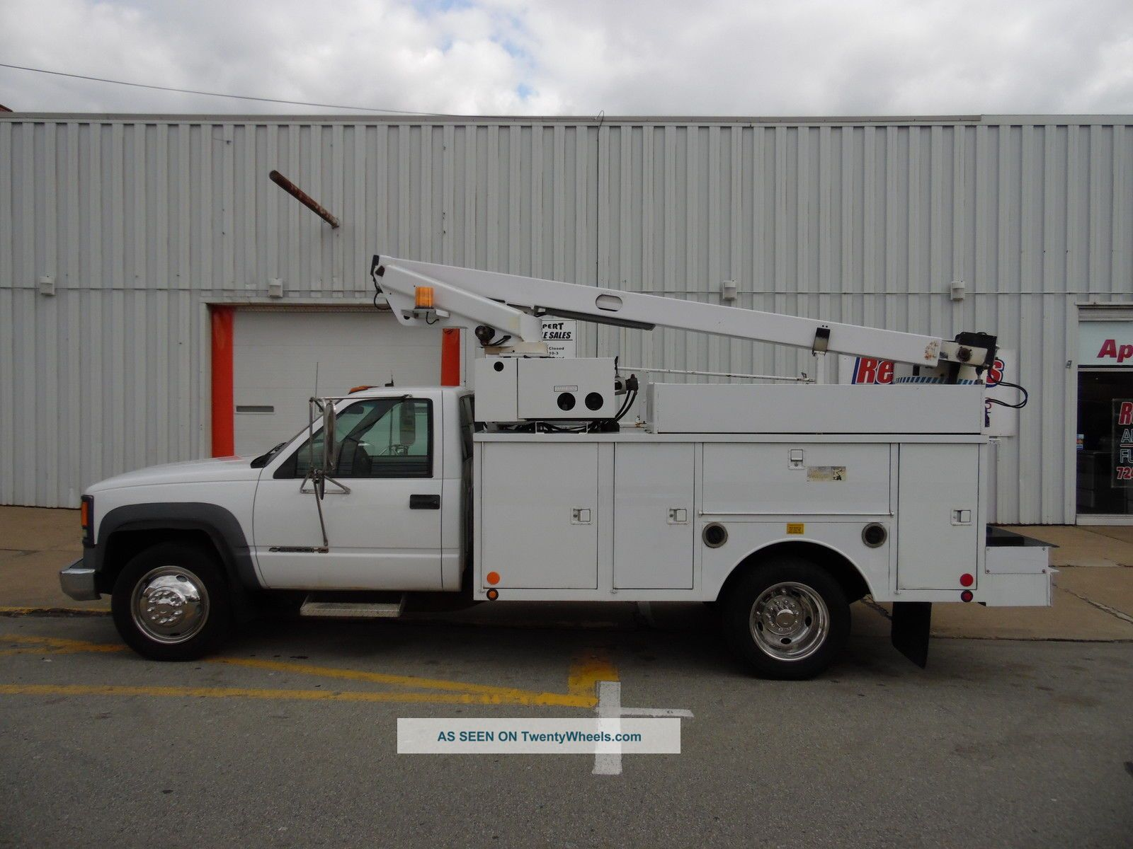 2000 Chevrolet C - 3500hd Service Bucket Telsta Boom Truck