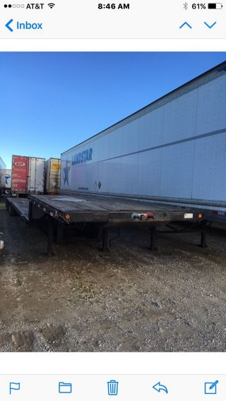2003 Trailking 48 ' Step Deck,  Triple Axel,  Air Ride Good Tire ' S photo