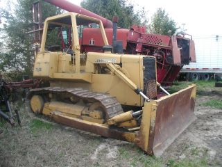 John Deere 750 Dozer,  Tilt Blade,  Recent Chains And Undercarraige Work L@@k photo
