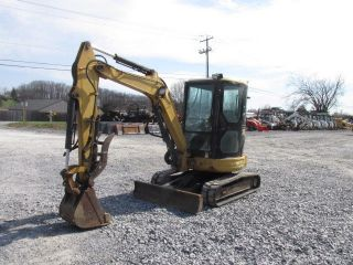 Caterpillar 303cr Mini Excavator photo