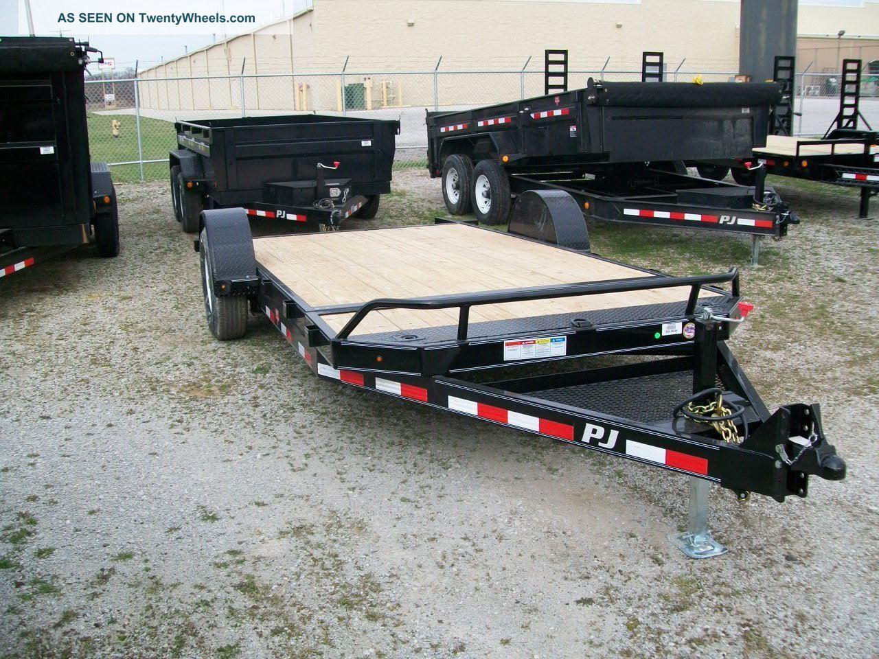 Tractor Supply Axle Trailer : Pj tilt equipment trailer gvw single