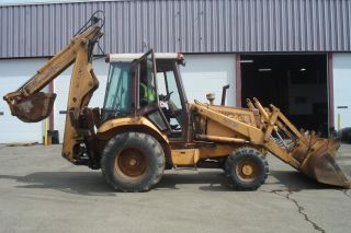 Case 580k 4x4 Backhoe Runs And Operates Great photo