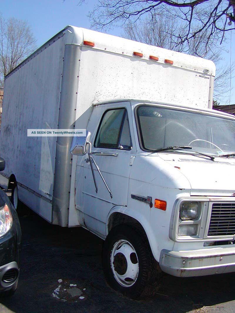 1985 Gmc Vandura 3500 Cutaway Box Trucks / Cube Vans photo