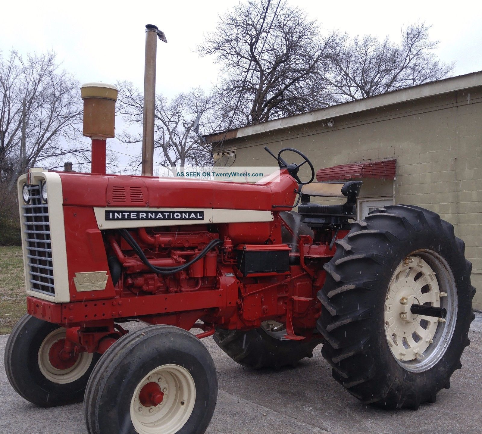 Ih 856 Tractor : International standard wheatland diesel tractor ih
