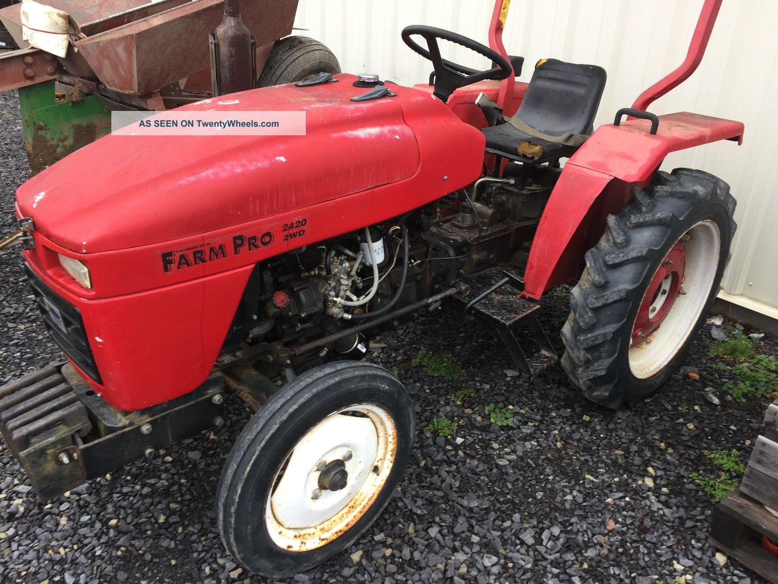 Small Tractors With Pto : Farm pro diesel compact tractor pt pto rubber