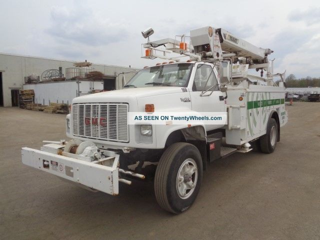 1991 Gmc 7500 Bucket / Boom Trucks photo