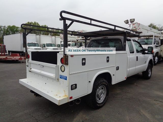 2015 Ford F250 4x4 Extended Service Utility Truck Diesel Utility